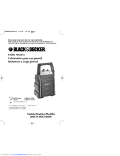 Black & Decker 200UH Use And Care Book Manual