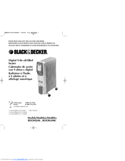 Black & Decker BDOH200 Use And Care Book Manual