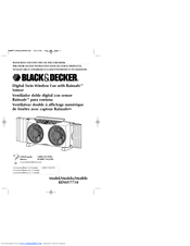 Black & Decker BDWF7710 Use And Care Book Manual
