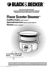 Black+decker 3-cup rice cooker | rc503 | black + decker.