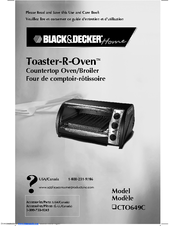 black decker toaster r oven cto649c manuals rh manualslib com bravetti toaster oven manual kitchenaid toaster oven manual