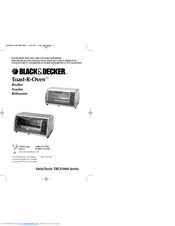 Black & Decker TRO5050A Use And Care Book Manual