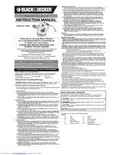 Black & Decker WP900 Instruction Manual