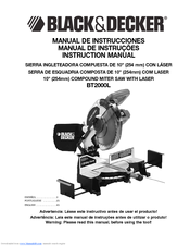 Black & Decker BT2000L Instruction Manual