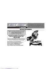 Black & Decker Fire Storm 90524442 Instruction Manual