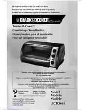 Black & decker to1675w manuals.