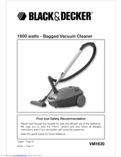 Black & Decker VM1430 Instruction Manual