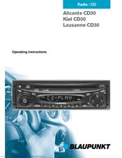 blaupunkt lausanne cd30 manuals rh manualslib com Blaupunkt Logo Blaupunkt Radio