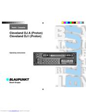Blaupunkt CLEVELAND DJ A Operating Instructions Manual