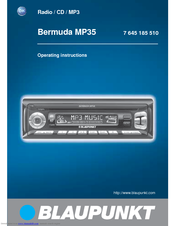 blaupunkt bermuda mp35 manuals rh manualslib com blaupunkt car stereo installation manual blaupunkt car stereo manual