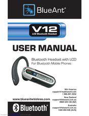 blueant v12 manuals rh manualslib com Q3 Bluetooth Ant Bluetooth