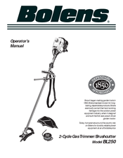 bolens bl250 manuals rh manualslib com Bolens BL250 Carburetor Adjustment Bolens BL250 Model
