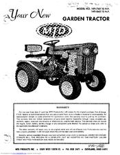 mtd 149 860 12 h p manuals rh manualslib com MTD Snow Thrower Parts Manual mtd 18/46 garden tractor manual