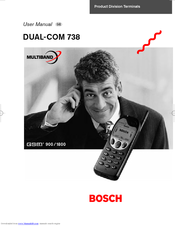 Bosch DUAL-COM 738 User Manual