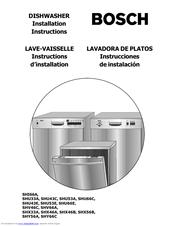 bosch shu53 manuals rh manualslib com bosch dishwasher manual canada bosch dishwasher manual silence plus 44 dba