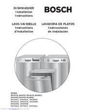 bosch shu43c manuals rh manualslib com Model Dishwasher 49 Diagram Parts Bosch She98mo5uc Bosch Recall List