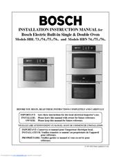 bosch hbn 746a uc manuals rh manualslib com bosch hbn 70 manual bosch hbn 531 manual