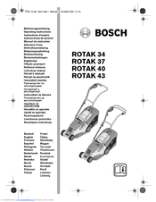 bosch rotak 43 manuals. Black Bedroom Furniture Sets. Home Design Ideas