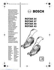 Bosch rotak 37 li bruksanvisning