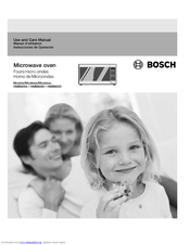 Bosch Hmb8060 800 Series Convection Microwave Use And Care Manual