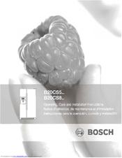 bosch evolution b20cs50sns manuals rh manualslib com bosch refrigerator manual b20cs50sns Bosch Refrigerator Problems