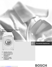 bosch washer service manual pdf