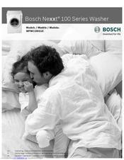 bosch nexxt 100 series manuals rh manualslib com Bosch Nexxt Premium Dryer Bosch Nexxt Dryer Reset Button