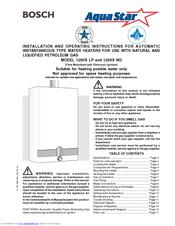 bosch aquastar 125hx ng manuals rh manualslib com bosch aquastar 125hx parts bosch aquastar 125hx parts
