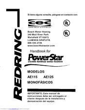 Bosch Powerstar Ae115 Manuals Manualslib