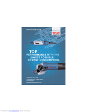 Bosch 1375A - Grinder Angle 4 1/2 Small 6 Amp Catalogue