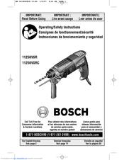 bosch 11258vsr sds plus rotary hammer drill manuals rh manualslib com dewalt drill user manual milwaukee drill user manual