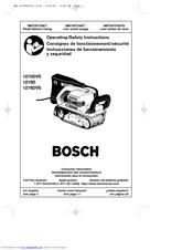 bosch 1276dvs vs belt sander manuals rh manualslib com bosch belt sander parts list bosch belt sander user manual