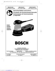 bosch 1295dvs manuals rh manualslib com Bosch Orbital Sander
