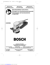 bosch 3725devs manuals rh manualslib com bosch detail sander manual bosch belt sander manual