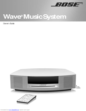 bose wave music system manuals rh manualslib com bose wave ii user guide bose wave radio iii user guide