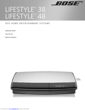 bose lifestyle 38 operating manual pdf download rh manualslib com Bose Lifestyle 15 Bose Lifestyle 18