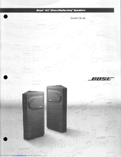 bose 401 manuals rh manualslib com Bose 501 bose 401 speaker manual