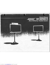 bose 901 series iii manuals rh manualslib com bose 901 series iii owner's manual bose 901 series iii owner's manual