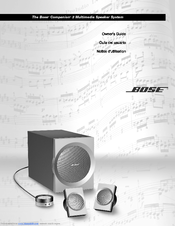 bose companion 3 series ii manuals rh manualslib com bose companion 3 series ii service manual bose companion 3 series 2 service manual