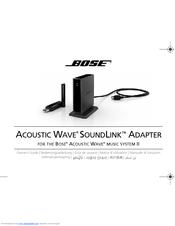 bose soundlink wireless music system manuals rh manualslib com Bose SoundLink Problems Bose SoundLink USB Key
