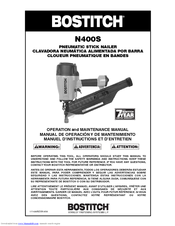bostitch sx150 parts manual pdf