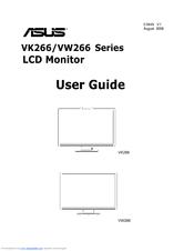 asus vk266h 25 5 lcd monitor manuals rh manualslib com asus k53ta service guide asus maintenance and service guide