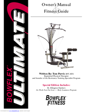 Bowflex ultimate 2 manuals for 10 minute trainer door attachment