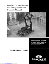 Bowflex TreadClimber TC3000 Assembly And Owner's Manual