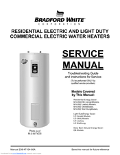 bradford white m 2 50t6ds service manual pdf download rh manualslib com Bradford White Logo Bradford White Logo