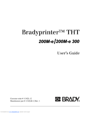 BRADY 200M-300 WINDOWS VISTA DRIVER