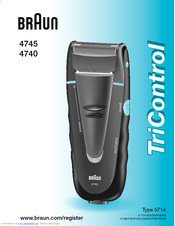Braun TriControl 4745 Owner's Manual