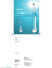 oral b pro 3000 user manual