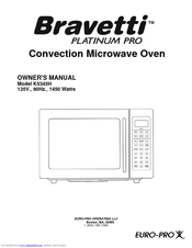 Bravetti Convection Microwave Oven K5345h Owner S Manual Pdf