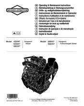 briggs stratton vanguard diesel 582447 manuals rh manualslib com Manual Transmission Diesel Ford F-350 Diesel Manual